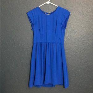Rebecca Taylor Blue Silk dress size 0